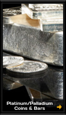 Platinum Palladium Coins and Bars